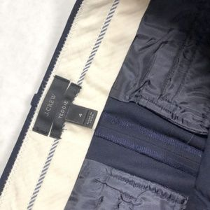 J. Crew Pants - J.Crew Womens 4 Teddie Pants in Navy Blue Cropped
